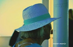 Solitude (mare_maris) Tags: life summer woman colors hat portraits pose outside outdoors person freedom daylight photo model women 60s colorful solitude alon