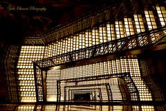 Spiral staircase (yoko.wannwannmaru) Tags: japan tokyo spiralstaircase brownwhite coth greatphotographers supershot  bestcapturesaoi coth5 elitegalleryaoi 201406251440dsc7484n