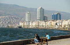 zmir (Turkey) - Kordon towards Alsancak (Danielzolli) Tags: turkey trkei smyrna turquia izmir turchia turcja turska smyrne smyrni tursko