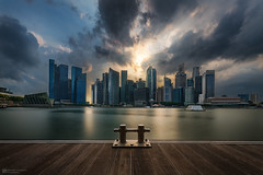 after the storm (Alexander Lauterbach Photography) Tags: singapore singapur thunderstorm marina marinabay dramatic clouds asia sony a7r a7rm2 longexposure