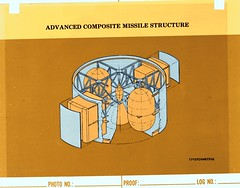 Atlas Collection Image (San Diego Air & Space Museum Archives) Tags: advancedcompositemissilestructure acms missile illustration concept commercialart unknownyear 17107cvh6731a coversheet programname explodedview photonumber lognumber proof