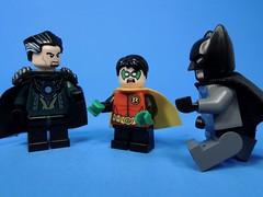 Family Trouble (MrKjito) Tags: lego minifg batman comics comic robin ras al ghul familly trouble damian wayne bruce minifig super hero dc comcis