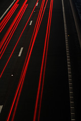 Red_Traffics (pgdesign94) Tags: longexposure slowshutter speed night shot flickr photo canon 1200d road dual carriageway carheadlights motion blur speedlight trailslight streaks nightshot streets roads freeway motorway headlights brakelights