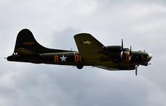 B-17 Flying Fortress (Bernie Condon) Tags: boeing b17 flyingfortress fort military warplane bomber ww2 usaaf vintage preserved yeovilton rn navy royalnavy airday rnas hmsheron airshow display aircraft plane flying aviation uk
