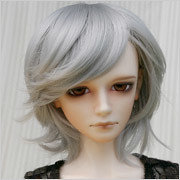 Leeke_LR-006 (uk.neko) Tags: bjd ball jointed dolls doll wigs for sale new leeke leekeworld dollga pink blue brown grey gray silver black blond 67 78 89 red white