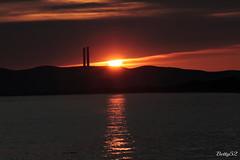 Soltanto un momento ... :) (Betti52) Tags: torre mozza carbonifera piombino toscana italia tramonto sole mare nubi post09042017