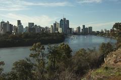 New Eyes Open (Swebbatron) Tags: australia brisbane queensland kangaroopoint brisbaneriver river city urban skyscrapers cbd travel fuji radlab 2008 lifeofswebb