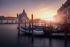Venecia´s down (Iván F.) Tags: venice venecia italy long exposure nisi sony zeiss 1635mm wide angle street sunset sundown carnival travel tourism awesome explore explorer exploration sun light beautiful grand canal water sea old