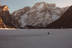Braies (Sofia Podestà) Tags: braies alto adige mountain landscape italy snow winter lake altoadige sudtirol sunset outdoor hike march 2017 sofia podestà sofiapodestà sofiapodesta