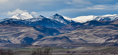 Snowy Mountains - explored (maytag97) Tags: landscape outdoor sky cloud owyhee mountain range maytag97 idaho snow foot hills nikon d750 inexplore