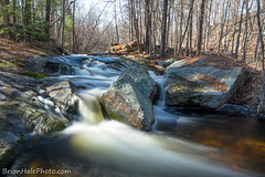 3-web-L-watermark (Brian M Hale) Tags: princeton ma mass massachusetts brian hale brianhalephoto long exposure lee filters little stopper water waterfall fall spring stream river brook nature outside outdoors woods forest rocks boulders trees nd neutral density filter induro tripod newengland new england keyes