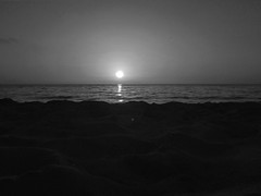 Black sun (orfeastzafestas) Tags: black blacknwhite white blackandwhite poor sunset sangordios corfu kerkyra beach blackphotography seascapephotography water sea ocean phone blackwhitephotos blackwhite