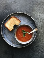 The Easiest 20-Minut (alaridesign) Tags: the easiest 20minute creamy tomato basil soup recipe