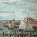PISSARRO Camille,1903 - L'Anse des Pilotes et le Brise-lames Est, Le Havre, Après-Midi, Temps ensoleillé (Le Havre) - Détail 19
