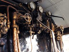 Steam Train (ImmyCee) Tags: steamtrain controls trains york old