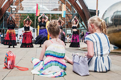 """Watching Dance (Tim Dennell) Tags: tramlines festival 2016 largest urban europe sheffield uk england music dance entertainers """"timdennell"""""""