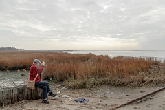 Winter in Jamaica Bay (john.gillespie) Tags: nyc jamaica bay waterfront winter water queens new york estuary beach autumn ny newyork jamaicabay