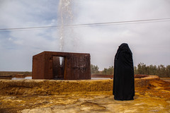 #4 (yoriyas) Tags: black burqa sahara photography whater fall yoriyas street sureal streetphotography yollow morocco contemporary art magnum colorsofmorocco arab berber arabphoto arabphotography color