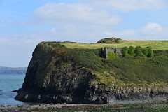Photo of Ruins above Abercastle harbor