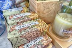 Pass the Soap Please (gabi-h) Tags: soap candles avoca shop ireland gabih stilllife map touristshop glass paper wood