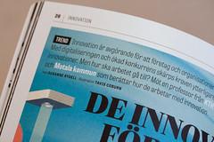 Type in use: Tablet Gothic in the magazine S (TypeTogether) Tags: tabletgothic smagazine appelberg swedish typeinuse typetogether joséscaglione veronikaburian wwwtypetogethercom grotesque sansserif magazine sis swedishstandardsinstitute