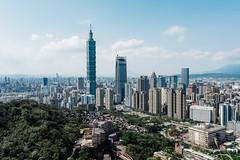 Taipei City (Ming Yam) Tags: taiwan taipei mountain 象山 台北 台灣 day sunny 101 taipei101 city landscape