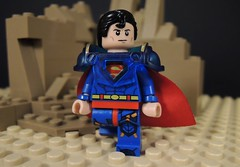 Superboy Prime (MrKjito) Tags: lego minifig custom super hero superboy prime kal el earth villain crisis infinte earths primetime superman