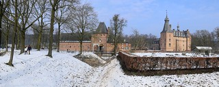 A winter walk around Doorwerth Castle