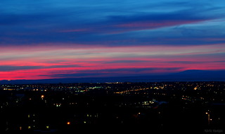 Afterglow Above Lancaster