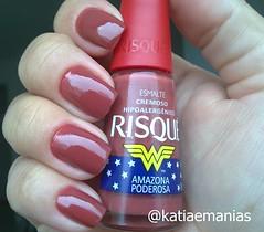Amazona Poderosa (Risqué) (katiaemanias) Tags: nails nailpolish nail nude unhas unha katiaemanias risque esmalte esmaltes