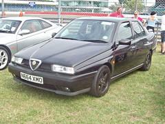 111 Alfa Romeo 155 V6 (1996) (robertknight16) Tags: alfa alfaromeo italy italian 1990s 156 spade racing silverstone n664xmo