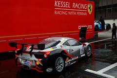 Kessel Racing Ferrari 458 Challenge (Y7Photograφ) Tags: kessel racing ferrari 458 challenge tusco cavalli andrea chiesa gt open winter series 2017 nikon d3200 motorsport cars race