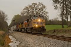 CSX Q698 at MP OOC 356.0 (travisnewman100) Tags: csx freight manifest train railroad q698 old fort tennessee union pacific bnsf c45accte sd70m c449w ge emd singals