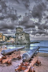 Italy_0934_editorial (mannmadephotos) Tags: ancient antique architecture beach cannon castle cloud cloudscape coast defense europe european evening famous fort fortification fortress harbor heritage historic historical history italian italy landmark liguria medieval mediterranean old rampart rapallo ruin rustic scenic sea seaside stone strength structure tourism tower town travel vacation water weapon weathered