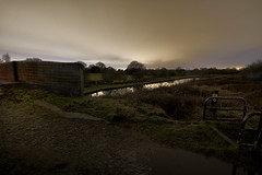 The Wyrley & Essington Canal, The Works Bridge, Pelsall 28/01/2017 (Gary S. Crutchley) Tags: pelsall works bridge uk great britain england united kingdom urban town townscape walsall walsallflickr walsallweb black country blackcountry staffordshire staffs west midlands westmidlands nikon d800 local night shot nightshot nightphoto nightphotograph image nightimage nightscape time after dark long exposure evening travel street slow shutter raw 1635mm f40g af s ed nikkor canal navigation cut inland waterway bcn narrowboat lock junction wyrley and essington canalscape scape
