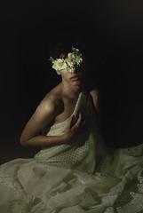 Delicadeza (Sergio Soutoux) Tags: boynude artisticnude art flowercrown boy nikon 50mm darkart