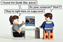 Death Star Plans (Oky - Space Ranger) Tags: lego star wars rogue one jyn erso cassian andor death plans instructions