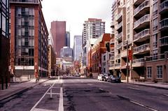 Adelaide Further East (Bill Smith1) Tags: april2017 believeinfilm billsmithsphotography heyfsc lomographyfsquard400 nikkoro35f2lens nikkormatel toronto