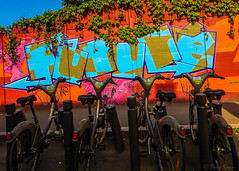 Future (Voyen_Ras) Tags: future past present street velibo paris life urban explore bikes art graffiti tags flickr create beauty color live photography spring light freedom expression love colours
