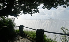 Victoria Falls Zambian Viewpoint