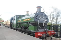 GWR 813 (30mog) Tags: gwr 813 tank engine didcot railway centre