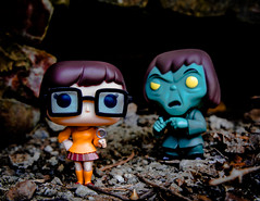 Jinkies! (The Flying Inn) Tags: animation creeper dinkley funkopop scoobydoo velma vinyl cartoon detective fdolls figures girl glasses magnifineglass monster mystery plastic television toys tv hannabarbera nerd hipster scoobygang heroine