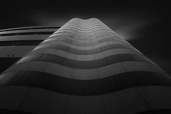 Waves (blondmao) Tags: fineart longexposure facade building münchenstein dark baselland switzerland bw blackandwhite 16stopper spenglerpark basel
