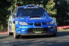 Xavi Pons / Xavier Amigo (Julien Dillocourt) Tags: rally rallye france corse french corsica 2007 tour de wrc subaru impreza xavi pons amigo benito 555