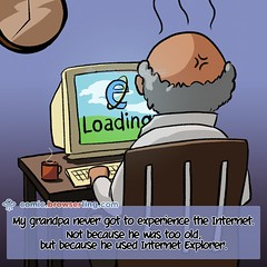 Grandpa - Webcomic about web developers, programmers and browsers (browserling) Tags: cartoon comic webcomic joke browser browserling crossbrowsertesting webdeveloper webdesigner webprogrammer grandpa internetexplorer ie explorer iexplore iexplorer grandpap grandfather computer coffee clock grandpajoke webdev developer designer programmer geek nerd internet web cartoons comics webcomics jokes browsers webdevelopers webdesigners webprogrammers webdevelopment developers development designers programmers