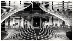 Martin Gropius Bau (Antiteilchen) Tags: blackwhite architecture architektur art kunst objekt steel stahl metall blackandwhite schwarzweis installation museum germany deutschland berlin ausstellung derluthereffekt martingropiusbau