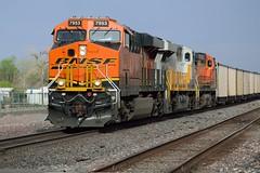 Holbrook, AZ (thokaty) Tags: holbrook arizona route66 train railway bnsf roadtrip freight