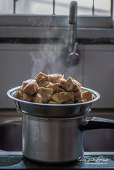 Everyday kitchen scene (color and spices) Tags: kitchen cooking steam foodphotography jackfruit enchor