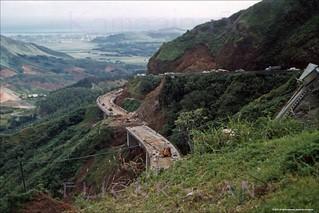 Pali Highway Ridge Cut 1956