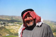 JORDAN (BoazImages) Tags: jordan jordanian portrait man kerak karak alkarak fort castle fortress middleeast boazimages tradition traditional arab arabia culture